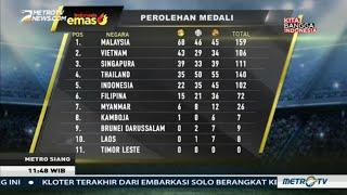 Indonesia Terpaku di Posisi 5 Klasemen Medali SEA Games 2017