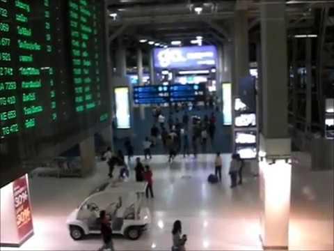 Thailand : Bangkok International Airport (Complete video)