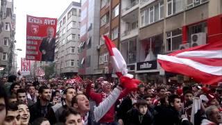 Samsunspor Şampiyonluk Coşkusu-Çiftlik Caddesi HD 720p