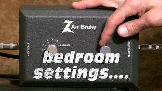 DR Z Air Brake Attenuator-Demo