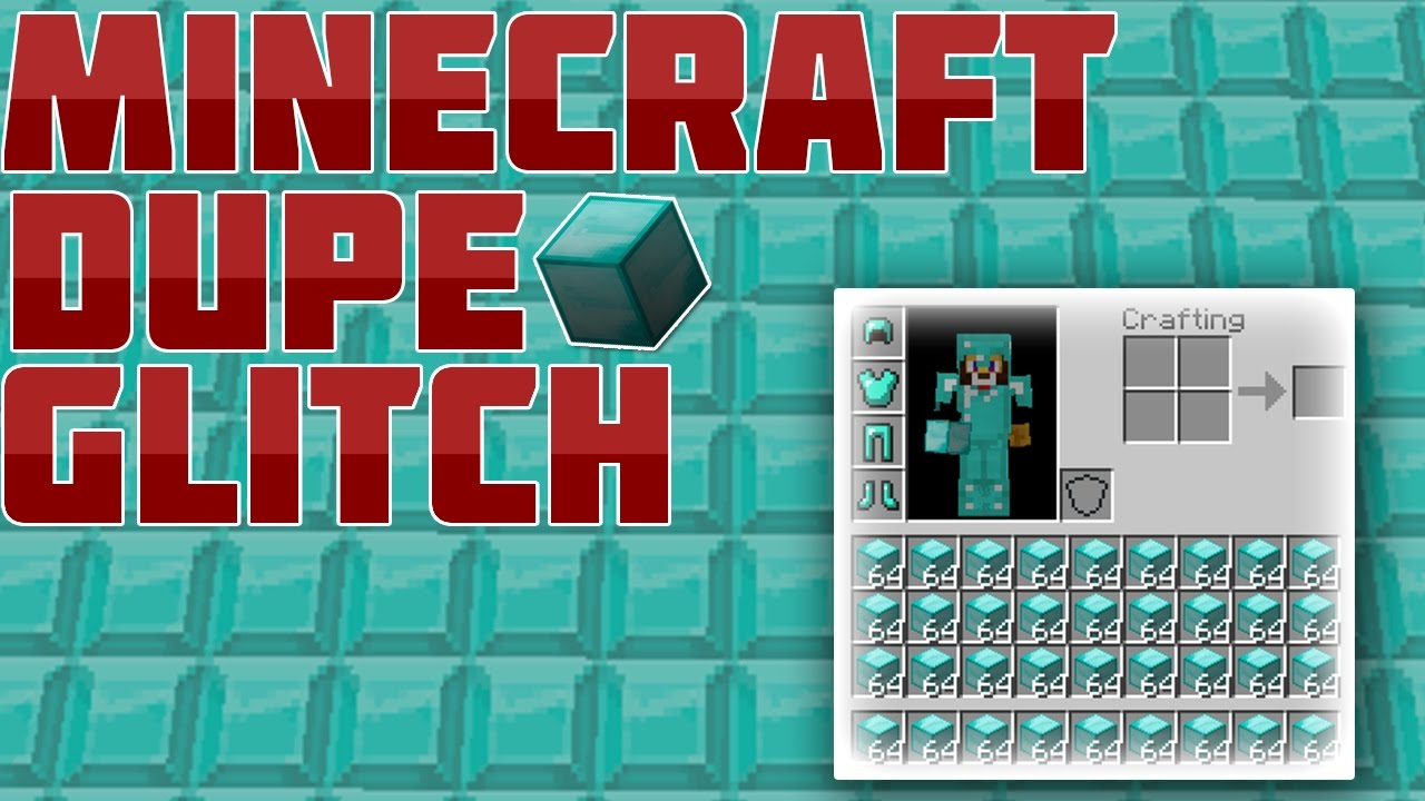 MINECRAFT DUPLICATION GLITCH YouTube - Minecraft nutzliche spielerkopfe