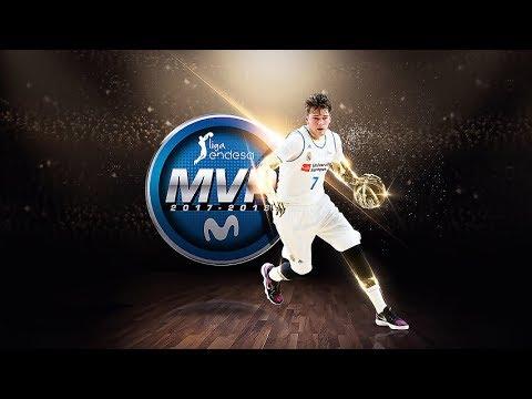 Luka Doncic, MVP Movistar de la Liga Endesa 2017-18