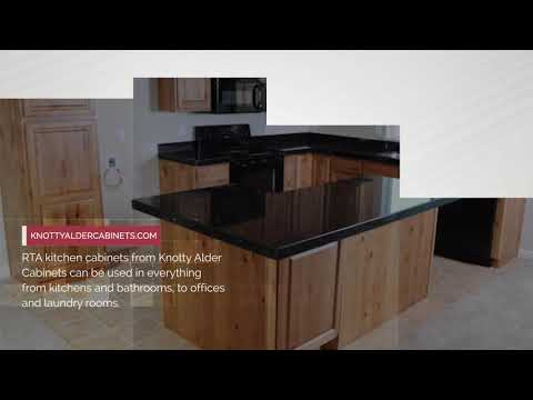 Charmant Beautiful RTA Cabinets | Knotty Alder Cabinets   YouTube