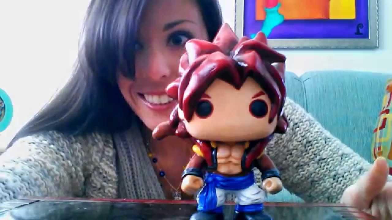 Custom Funko Pop Ss4 Gogeta From Dragon Ball Z Youtube
