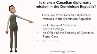 Is there a Canadian diplomatic mission in the Dominican Republic?