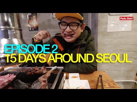 Makan Halal Lamb Skewer Di Gangnam | 15 Days Around Seoul : Episode 2
