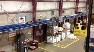 USED SLIDER BED CONVEYOR: Transporting Horizontally or at Incline/Decline (Series 2)
