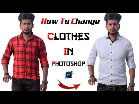 How To Change Clothes In Photoshop | Khan Editz