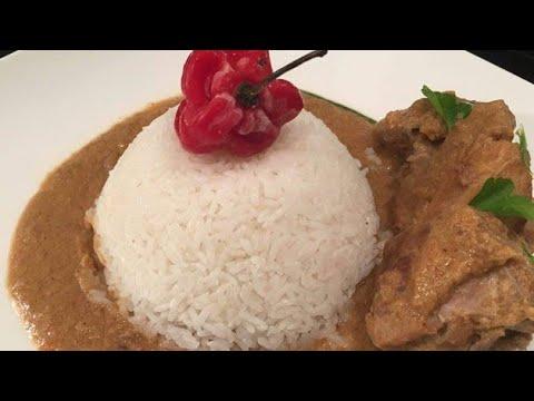 Maf sauce d 39 arachide au poulet et gombo doovi - Comment cuisiner poulet fume ...