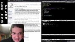 George Hotz | Programming | The Coq Files: sqrt(2) is irrational | Part1