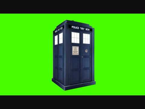 How To Open A Door Without A Key >> FREE STOCK FOOTAGE: TARDIS Rotating on Greenscreen ( Y ...