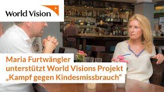 Kampf gegen Kindesmissbrauch: Maria Furtwängler unterstützt neues Projekt von World Vision