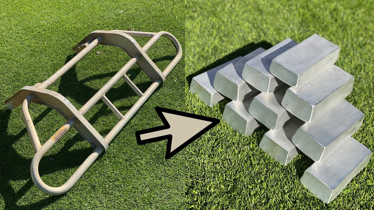 How Much Aluminum In A Full Size Bull Bar - Massive Haul - ASMR Melting Metal - Molten Aluminium