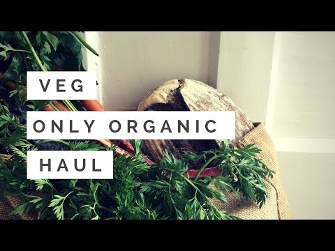 VEG ONLY ORGANIC GROCERY HAUL