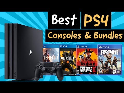 PS4 Console 2020: Best Sony PlayStation 4 Bundles & Consoles