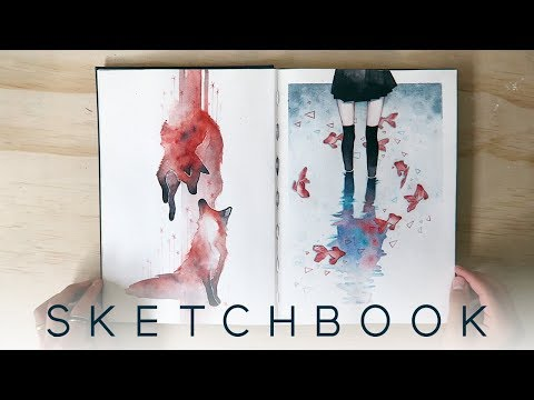 2017 Watercolor Sketchbook