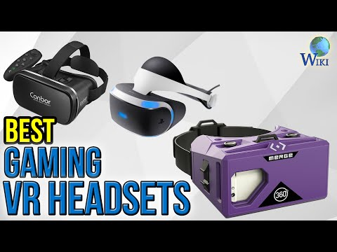 8 Best Gaming VR Headsets 2017