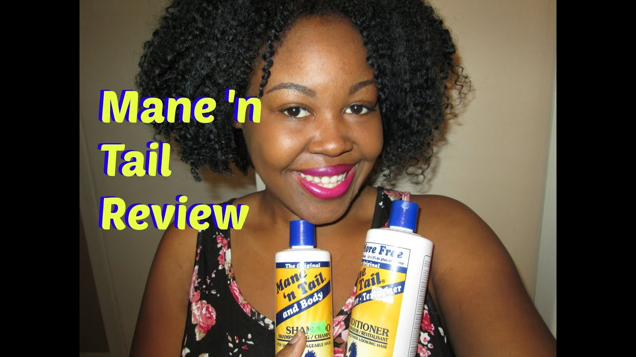 Mane N Tail Shampoo Conditioner Review Hair Growth Youtube