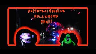 HALLOWEEN HORROR NIGHTS 2019/UNIVERSAL STUDIOS HOLLYWOOD/FIRST VLOG