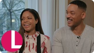 Will Smith and Naomie Harris Talk the Deep Emotions of Collateral Beauty | Lorraine