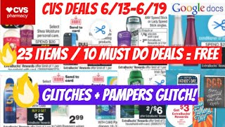 CVS Deals 6/13-6/19 {22 Products=FREE} 6/13 CVS Couponing This Week💃10 Must Do CVS Deals + GLITCHES