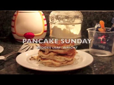 Pancake Sunday | Brooke Vlogs