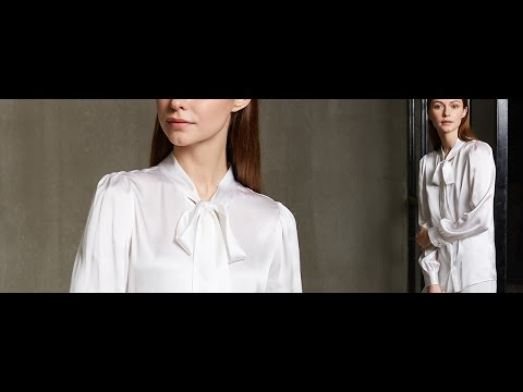 Women's Elegant White Shirts, Tops & Silk Blouses | LilySilk