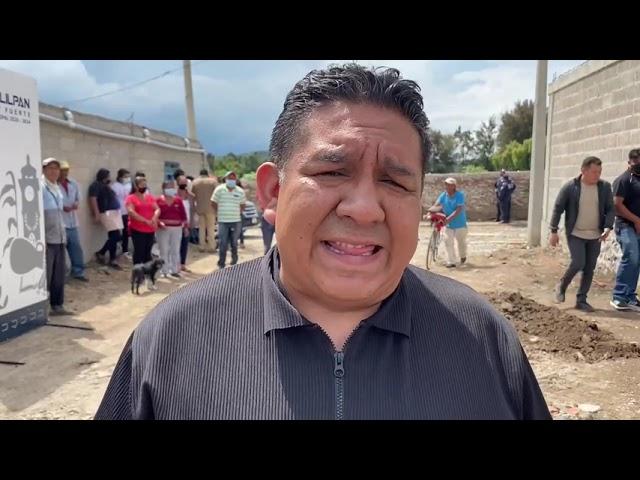 ALCALDE DE TLAHUELILPAN SORPRENDE A LOS HABITANTES DEL PUEBLO DE MUNITEPEC ANUNCIA MILLONARIA OBRA