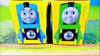 Thomas the tank engine and friend percy Paper Craft きかんしゃトーマスとパーシーの付録、ペーパークラフトだよ