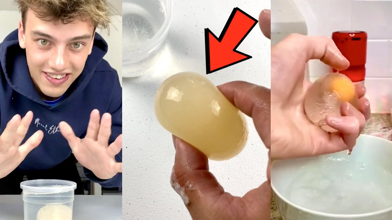 This egg trick will shock you!! 😳 - #Shorts