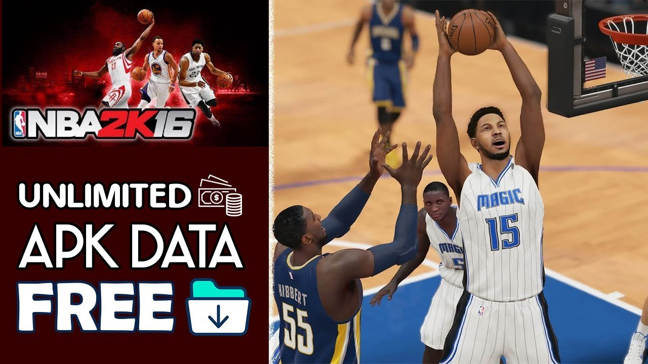 Download Nba 2k16 Apk Mod Obb For Android 2020 Youtube