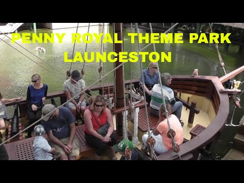 PENNY ROYAL THEME PARK, LAUNCESTON, TASMANIA, AUSTRALIA