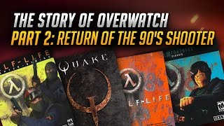 The Story of Overwatch: Return of the 90s Shooter(In part two of our three part series Danny talks to the developers at Blizzard about how games like Team Fortress Classic, Quake 2 and Half-Life Deathmatch ..., 2016-04-22T19:00:00.000Z)