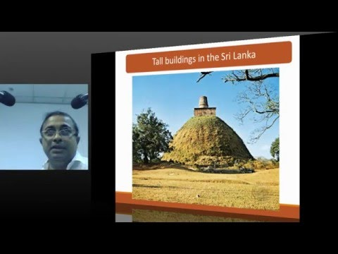 PUBLIC LECTURE : Challenges in Design & Construction of tall buildings in Sri Lanka