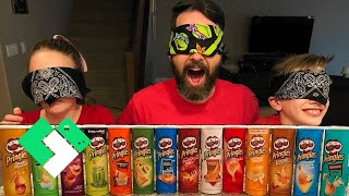 Pringles Challenge! 14 Flavors! Ice Cube Consequence! | Clintus.tv
