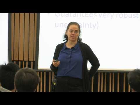 Prof. Eva Tardos - Games, Auctions, Learning, and the Price of Anarchy