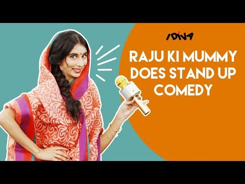 iDIVA - Raju Ki Mummy Does Stand-Up Comedy | Mazedar Mrs. Raju Ki Mummy