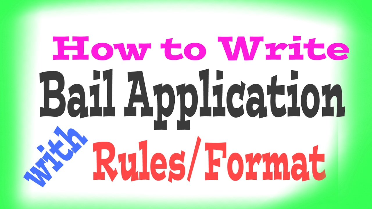 Criminal Bail Application