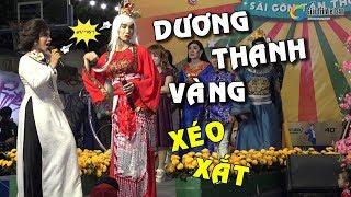 """3 lần """"xéo xắt"""" Dương Thanh Vàng chửi bà trưởng đoàn Lộ Lộ SGTT """"sấp mặt"""" không đỡ nổi"""