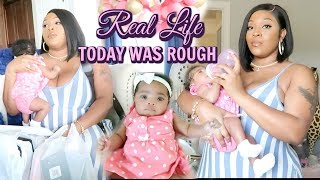 Download Today Was Rough | New MOM First Time Alone With Newborn Baby | Baby Girl & MOM Vlog Mp3 and Videos