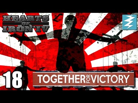 THE PUPPET MASTER [18] Together For Victory - Hearts of Iron IV HOI4 Paradox