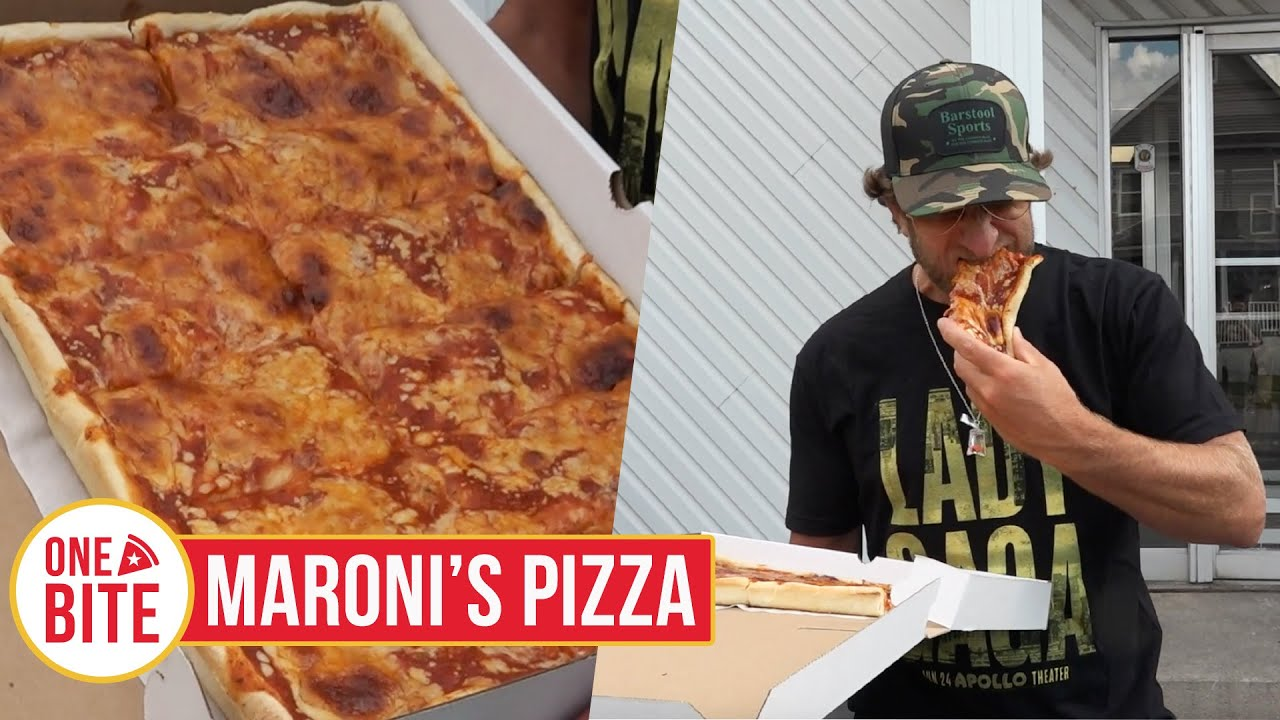 Barstool Pizza Review - Maroni's Pizza House (Scranton, PA)