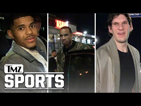 New Clippers Players Already Livin' it Up in L.A., Guys Night Out! | TMZ Sports