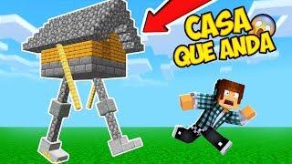 CASA QUE ANDA NO MINECRAFT !! - ( Walking House )