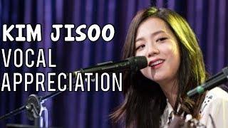 BLACKPINK JISOO VOCAL APPRECIATION (Singing Live Compilation)