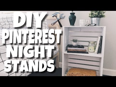 DIY Pinterest Nightstands