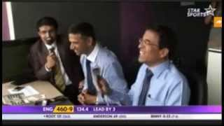Saurav Ganguly Commentary During Pakistan Winning Against England