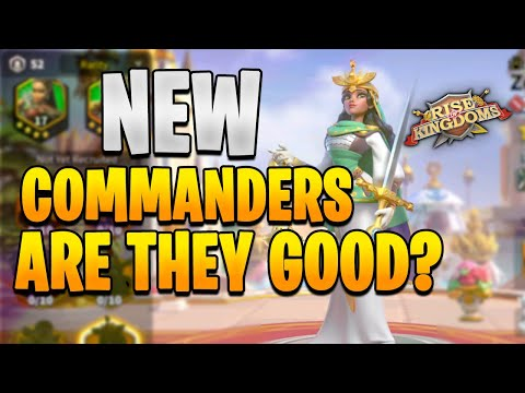 Zenobia and Harald Sigurdsson New Realeased Infantry Commander Overview   Rise of Kingdoms