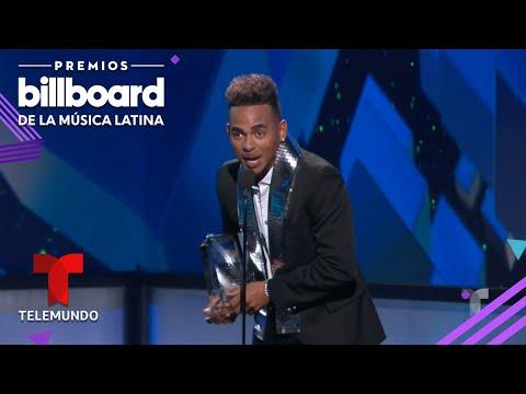 Ozuna arrasó en los premios a la música latina y Te boté fue elegido el tema del año
