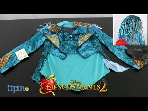 Disney Descendants 2 Uma Dress Up Set & Character Wig from Just Play